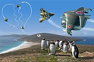 Falkland Crisis: Torn Love