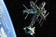 Shuttle & Mir