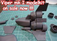 modelkit of the Viper mk1